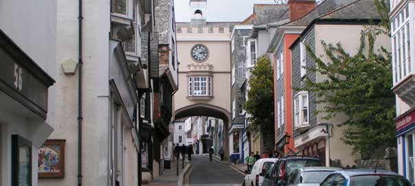 Totnes Town Centre
