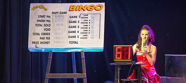 Bingo at Welcome Family Holiday Park