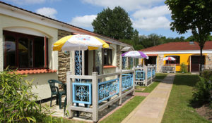 Self Catering Chalet Bungalows at Welcome Family Holiday Park in Devon