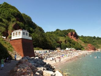 Oddicombe Beach, Babbacombe, Torquay, Devon