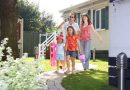 Family on holiday at Welcome Family Holiday Park