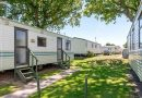 View of Classic Caravans and trees at Welcome Family Holiday Parks