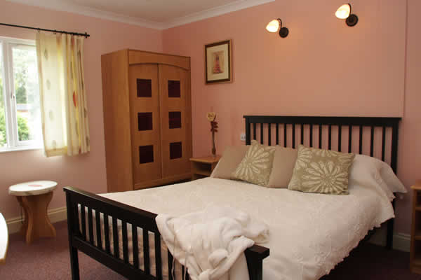 Bedroom in Casita Lodge at Welcome Family Holiday Park