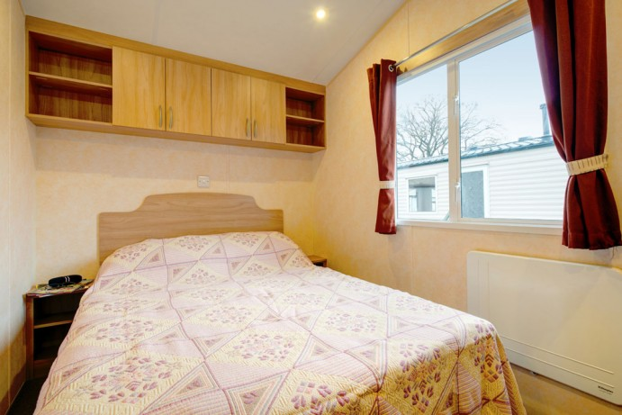 Double Bedroom in Sunrise 2 bedroom caravan at Welcome Family Holiday Park