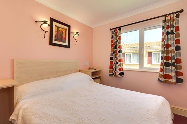 Mani Bedroom in Casafina 3 Bedroom Lodge at Welcome Family Holiday Park