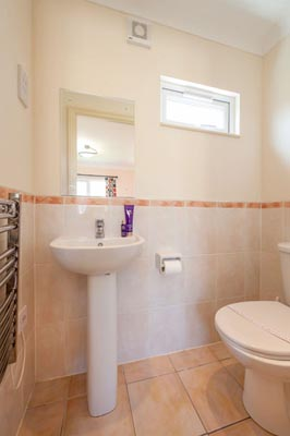WC in Casafina 3 Bedroom Lodge at Welcome Family Holiday Park