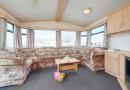 Lounge area in this 3 Bedroom Caravan