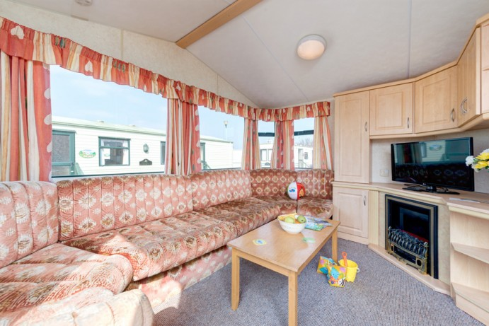 Sunset 2 bedroom pet friendly caravan in Devon