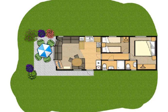 Casario - new 2 bedroom caravan
