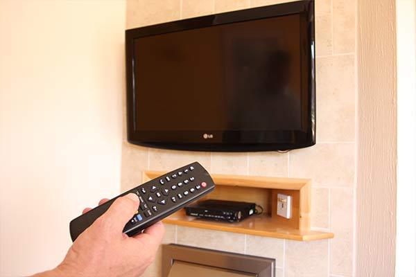 TV in Bungalow