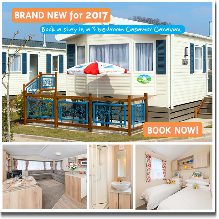 Brand New 3 Bedroom Caravan at Welcome Family Holiday Park