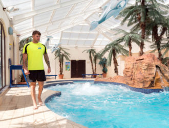 Lifeguards on duty at all times in our Tropicana Heated indoor pool complex in Devon
