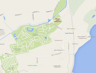 Map and Directions to Welcome Family Holiday Park