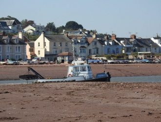 Day Trips from Welcome Family Holiday Park, Shaldon View from Teignmouth Back Beach