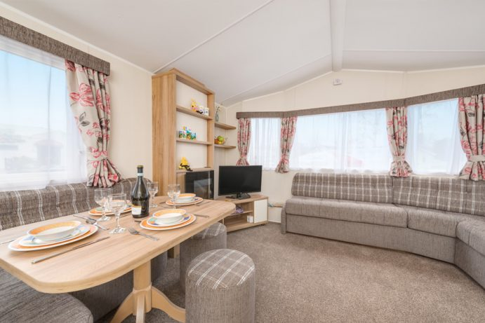 Premier Caravan at Welcome Family Holiday Park Dawlish Warren, Devon