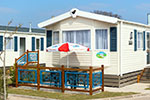 Accommodation at Welcome Family Holiday Park in Devon includes, caravans, lodge and bungalows