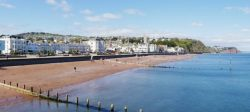 Teignmouth Sea Front.