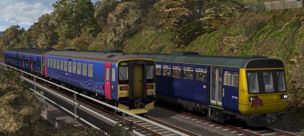 Train at Dawlish Warren