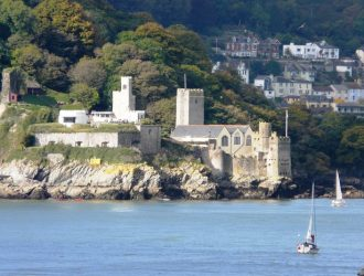 View of Dartmouth Castle from the sea