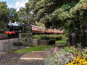 Steam Train in Devon.