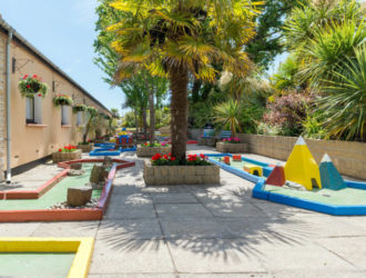 Crazy Golf Course at Welcome Family Holiday Park