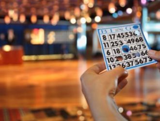 Bingo ticket at Welcome Family Holiday Park