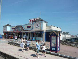 Teignmouth Pier in Devon.