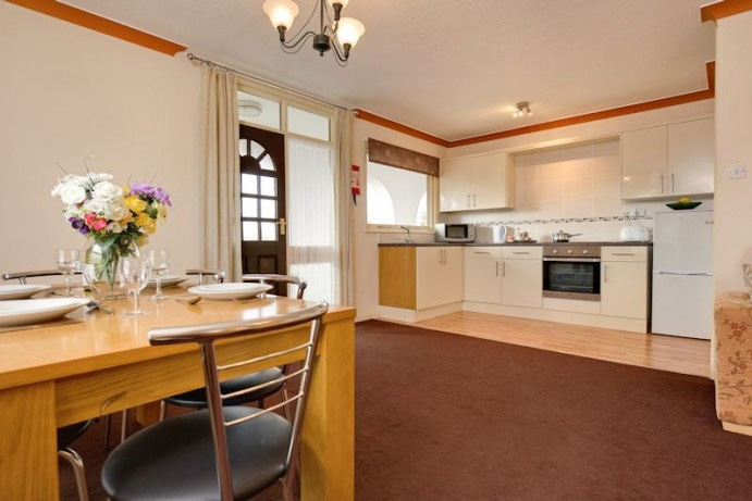 apartments at Welcome Family Holiday Park in Devon