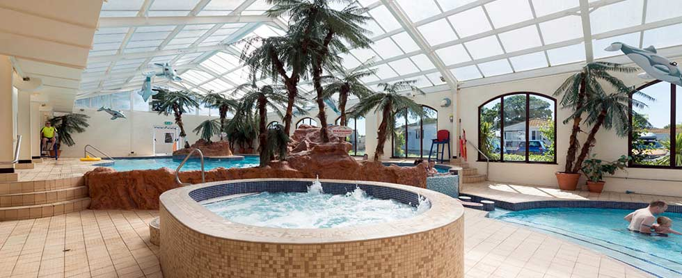 Whirlpool at Welcome Family Holiday Park, Dawlish Warren