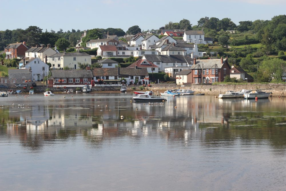 View of Cofton Harbour near Starcross and Dawlish Warren.