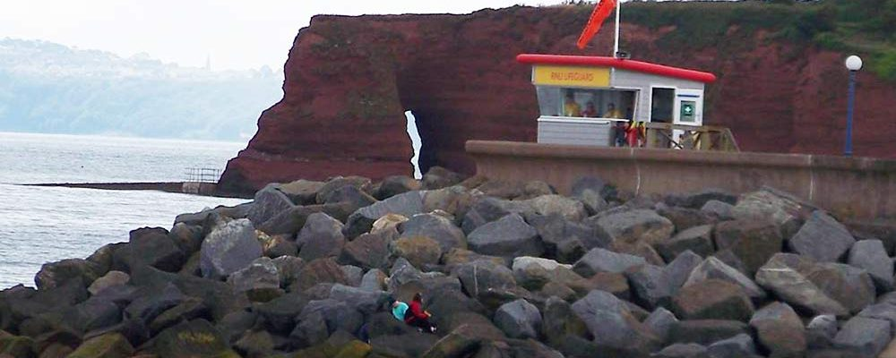 Life Guard station at Dawlish Warren