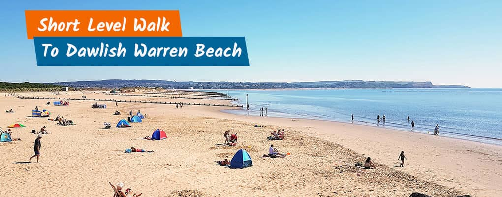 Dawlish Warren Beach in Devon