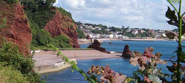 View of South Devon Coastline by Asa Ahearn
