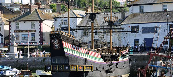 Brixham - image of the Golden Hind