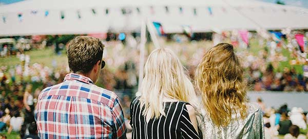 Festival in devon