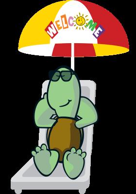 Character Under Umbrella