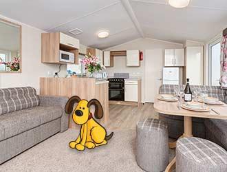 CasaPerro Dog Friendly Caravan, Dawlish Warren