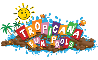 Tropicana Fun Pools Graphic