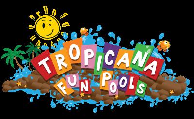 Tropicana Fun Pools Graphic