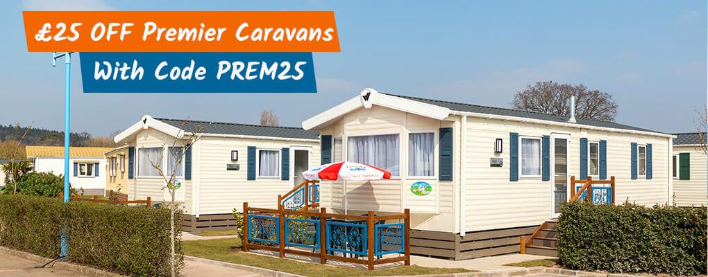 £25 Off Premier Caravans