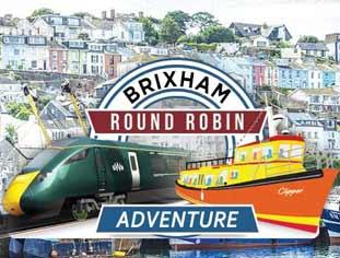 WeFerry Round Robin to Brixham from Dawlish Warren