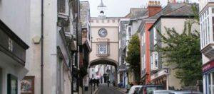 Historical Totnes Town Centre