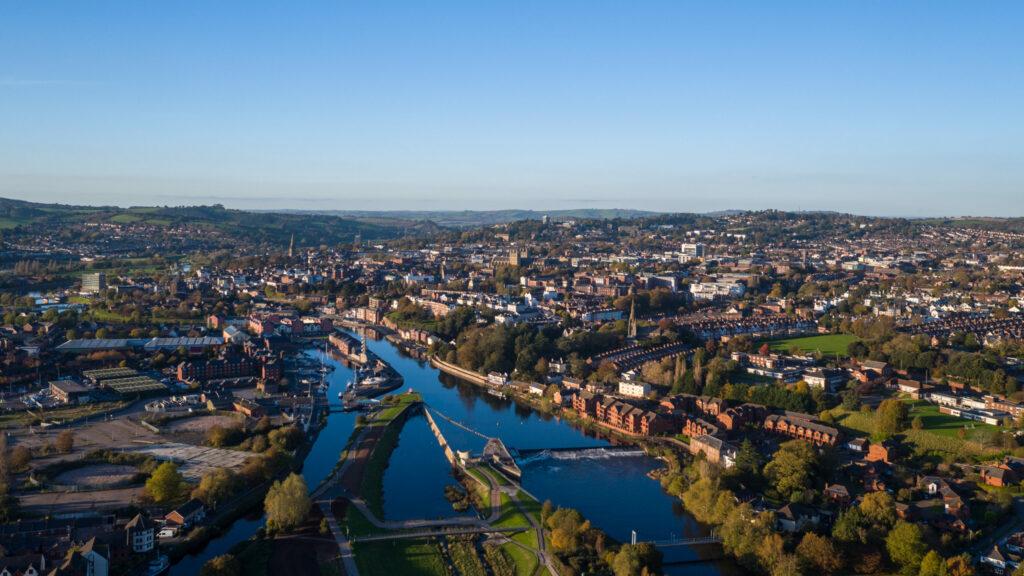 river landscape shot