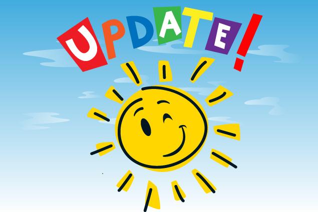sunshine update