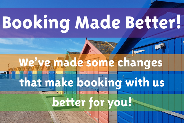 our new booking changes