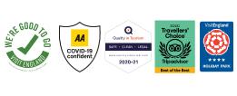 welcome family award logos